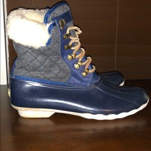 Womens sperry top sider duck boots martime size 10